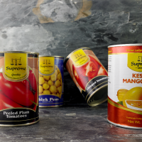 CANNED BEANS, LENTILS, PULSES, VEGETABLES & FRUITS